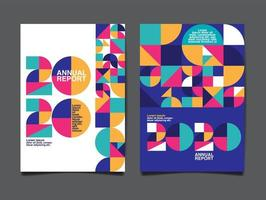 couverture du rapport annuel géométrique 2020