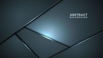 fond innovant de maille grise abstraite vecteur