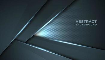 abstrait innovant gris en forme de v