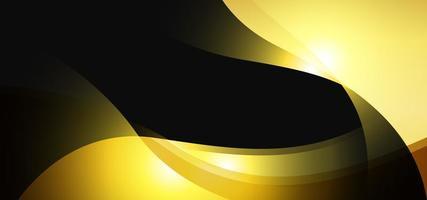bannière royale d'or de luxe vecteur