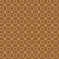 motif de formes abstraites rondes brun clair vecteur