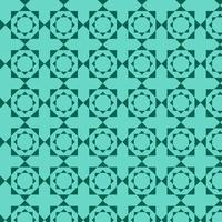 motif de formes géométriques bleu clair vert