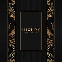 fond de luxe avec motif en marbre vertical vecteur
