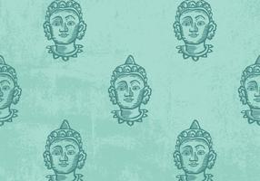 Vecteur de motif de Bouddha