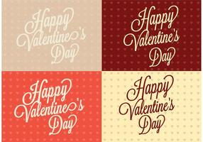 Polka Dot Heart Saint Valentin Fond