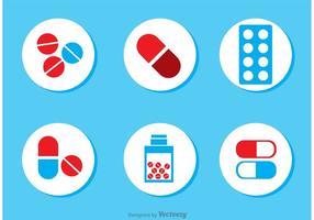 Paquet vectoriel d'icônes médicales