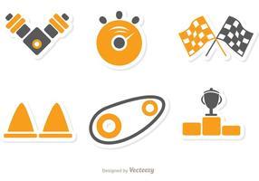 Pack d'icônes icône de course 1