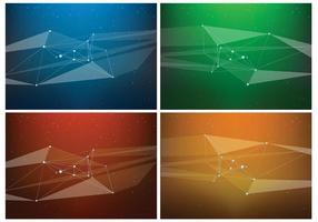 Fonds vectoriels abstraits gratuits vecteur