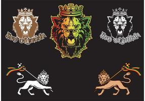 Lion de Judah vecteur