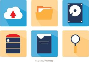 Big Vector Data Vector Icon Pack