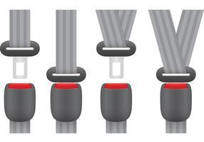 Vecteurs de ceinture de sécurité