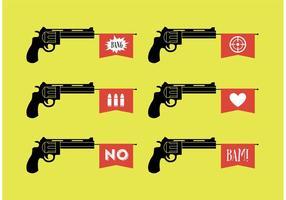 Vecteurs de pistolet à jouet vecteur