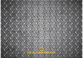 Texture libre de plaque de diamant en métal vectoriel