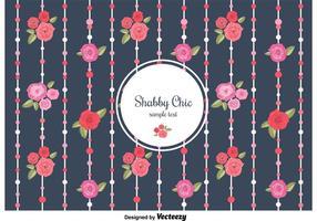 Contexte Shabby Chic Style gratuit vecteur