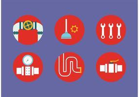 Icônes de plomberie