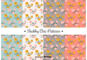 Free Shabby Chic Patterns vecteur