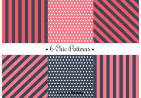 Free Retro Patterns vecteur