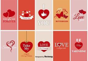 Étiquettes Saint Valentine