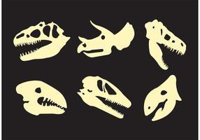 Vecteurs de dinosaures vecteur