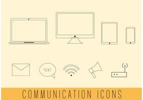 Vecteurs de communication simples gratuits