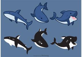 Vecteurs de requins vecteur