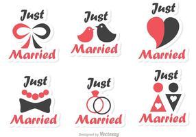 Simples vecteurs mariés vecteur