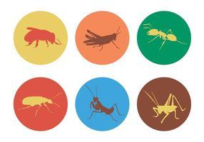 Insectes vectoriels vecteur