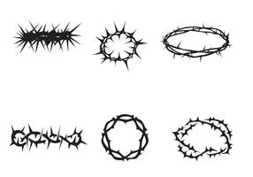 Vector Free Crown of Thorns