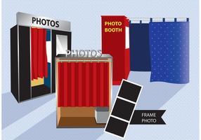 Vecteur de kiosque photo