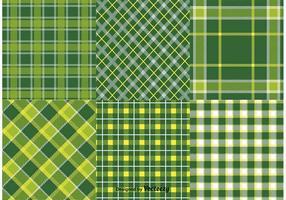 Saint-Patrick's Day Textile Patterns vecteur