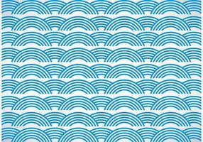 Fond de vecteur des vagues