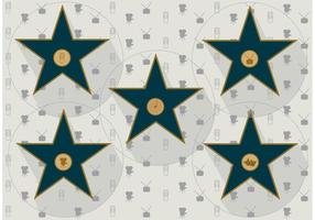 Walk of Fame Vector Stars