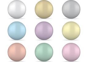 Vecteurs de perles vecteur