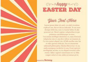 Illustration de la fête de Pâques vecteur