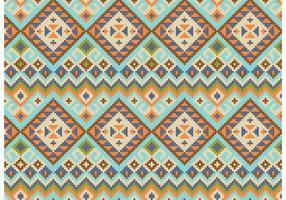 Vecteur de fond de motif abstrait natif