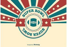 Super bowl illustration vecteur