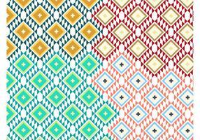 Vecteurs de motif Navajo vecteur
