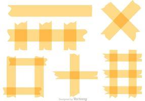 Vecteurs de bande adhésive vecteur