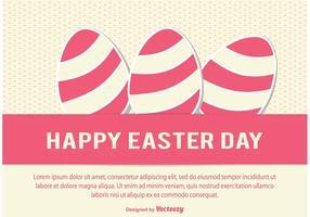 Illustration de vecteur de jour de Pâques
