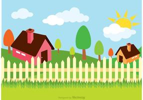 Vecteur d'illustration de maison