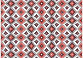 Aztec Maya Primitive Bricks Vecteur Vecteur