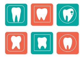 Dents vectorielles gratuites vecteur