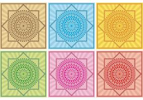 Dessins vectoriels de fond au Maroc