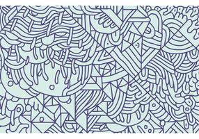 Vecteur de fond de motif abstrait