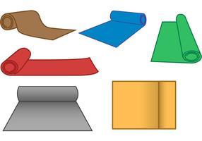 Vecteurs de rouleau de tapis