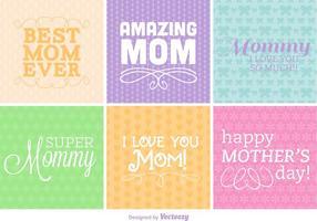 Type de fête des mères Fond