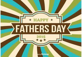 Illustration vectorielle du jour du père