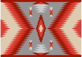 Modèle de motif de tapis Navajo style ancien