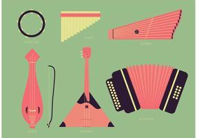 Ensemble d'instruments vectoriels russes