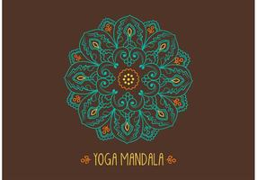 Vecteur de mandala ornemental gratuit
